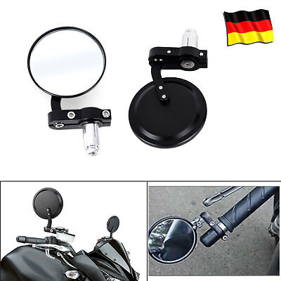 rund motorrad spiegel 7 8 motorcycle rearview mirrors. Black Bedroom Furniture Sets. Home Design Ideas