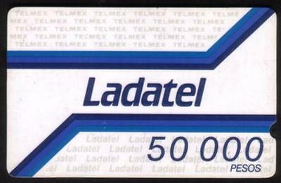 Mexico: Ladatel First Issues (No Arrows). Very Fine USED Set of 3 Phone Card