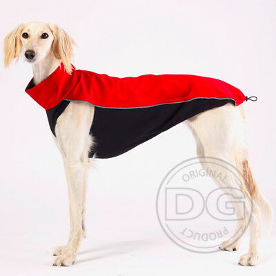 Outdoor Softshell Top Sighthound Greyhound Whippet Dog Coat CHECK SIZE GUIDE