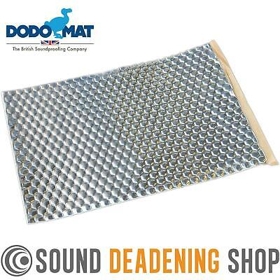 Dodo Dead Mat Hex Sound Deadening 1 Sheet 1sq.ft Car Van Vibration Proofing Mat