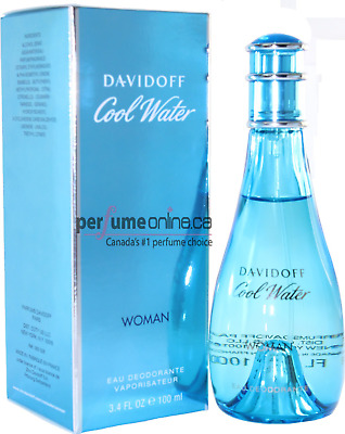 Cool Water 100Ml Edt Women Brand New Sealed In Box
