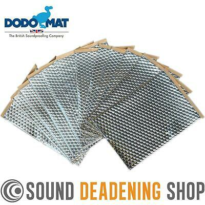 Dodo Dead Mat Hex Sound Deadening 12 Sheets 12sq.ft Car Vibration Proofing