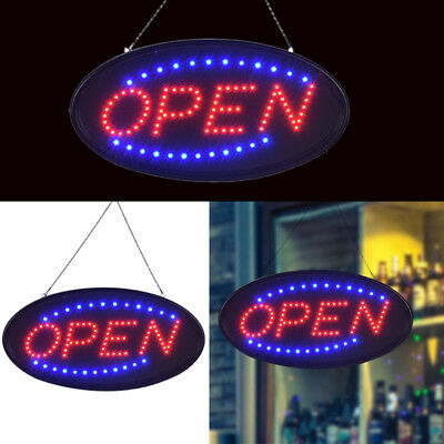 "Ultra Bright Animated LED Open Store Shop Business Sign 19x10"" Neon Lights Tool"