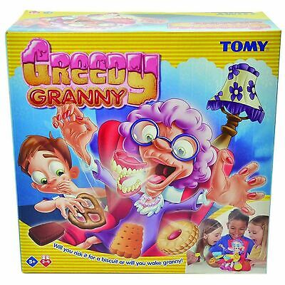 TOMY Greedy Granny Children's Preschool Action Game 2-4P - Sneak Biscuits Away!