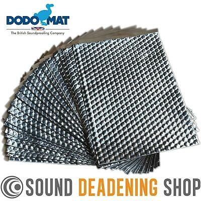 Dodo Dead Mat Hex Sound Deadening 30 Sheets 30sq.ft Car Vibration Proofing