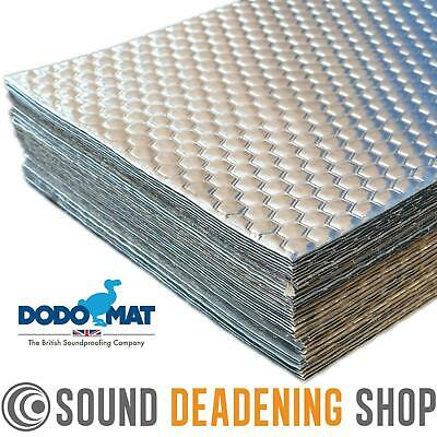 Dodo Dead Mat Hex Sound Deadening 40 Sheets 40sq.ft Car Vibration Proofing Mat