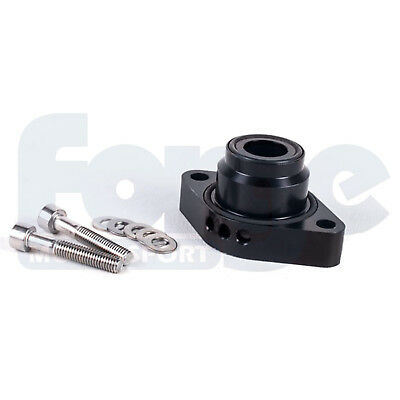 Forge Blow Off Dump Valve Spacer Adaptor Kit Vw/Audi 1.4 TSI Twincharged Black