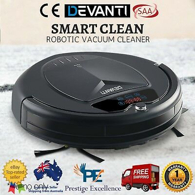 Robotic Vacuum Automatic Floor Sweeper Dry Cleaning Rechargeable Robot Cleaner