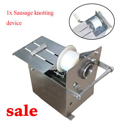35mm Small Sausage Production Line Tie Machine Hand Tied Line Machine Easy Use