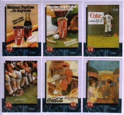 Coca-Cola '95 CEL 1 Cards: Coke (NOT PhoneCards) Cplt Set of 50 Diff. Phone Card