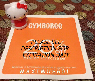 Gymboree Coupon 20% Off Entire Purchase - SEE DESCRIPTION FOR EXPIRATION DATE