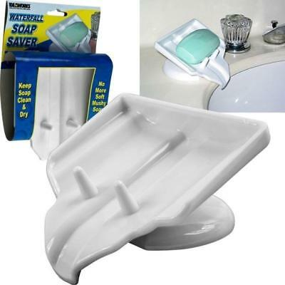 Idea Works Waterfall Soap Saver JB4114 - White Plastic New for RV Bathrooms -NOS