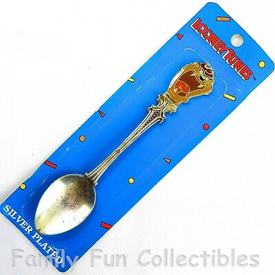 LOONEY TUNES~1991 Gift Creations~Collectible Spoon~Taz~Silver Plated~B~NEW NOS
