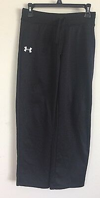 Unisex Under Armour Youth XL Loose Fit Pants Black             #MJ