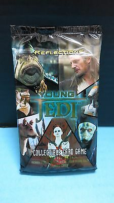 1X Reflections Young Jedi Ccg Star Wars Booster Pack 20 Card Sealed Yjr Game