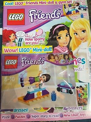 LEGO Friends issue  40. 4th oct  With free gifts