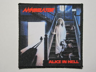 ANNIHILATOR Alice In Hell new printed patch thrash metal