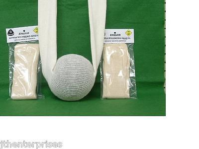 Lawn Bowls Polishing Sleeve for Cleaning your Bowls PRICE FOR ONE  Many Colours