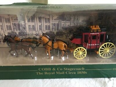 COBB & Co Stagecoach (The Royal Mail) Australia Post collectors model (Matchbox)