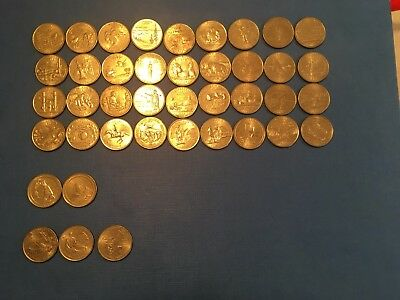 US Quarters - States, National Parks, Districts & Territories