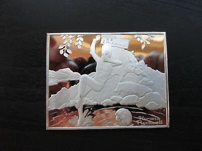 Norman Rockwell's Fondest Memories in Proof Solid Sterling Silver Playing Hookey