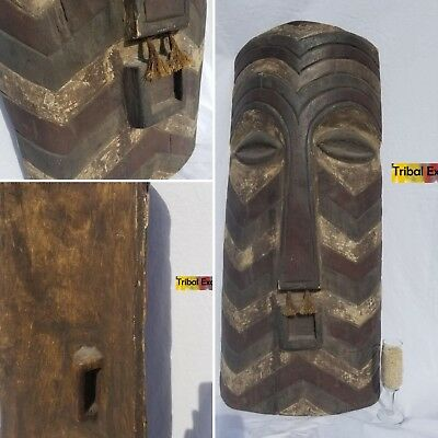 GREATEST Songye Kifwebe Shield Sculpture Statue Figure Mask Fine African Art
