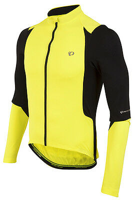 47618af98 Pearl Izumi Select Pursuit Long Sleeve Bike Jersey Screaming Yellow Black XL
