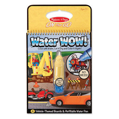 Melissa & Doug On The Go Water Wow! Vehicles - NEW
