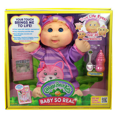 Cabbage Patch Kids Baby So Real Blonde - NEW