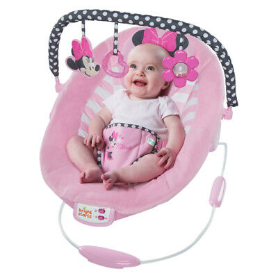 Minnie Mouse Blushing Bows Bouncer - NEW