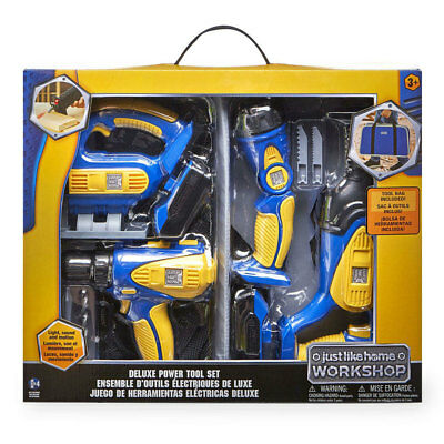 Just Like Home Workshop Deluxe Power Tool Set