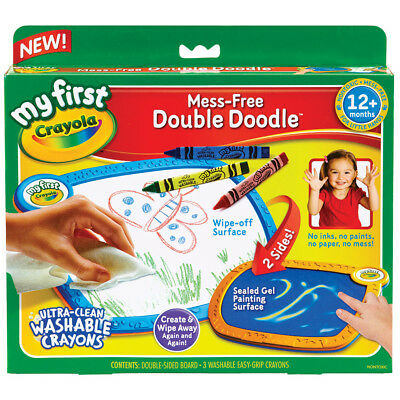Crayola My First Mess-Free Double Doodle - NEW