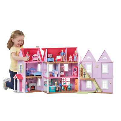 You & Me Deluxe Dollhouse with Lights & Sounds - NEW