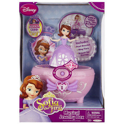 Sofia The First Musical Jewelry Box