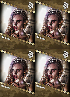 Topps Fear the Walking Dead Fans' Choice Gloria 4X Cards DIGITAL