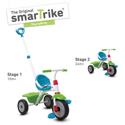 smarTrike Fun Trike – Green/Blue - NEW