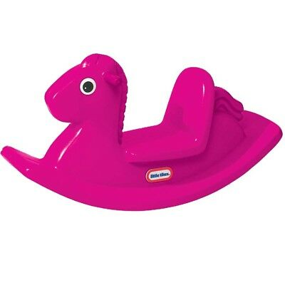 Little Tikes Rocking Horse - Magenta - NEW