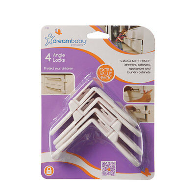 Dreambaby Angle Locks 4Pack