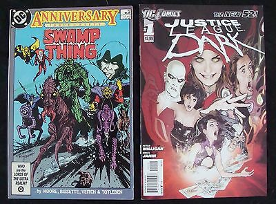 JUSTICE LEAGUE DARK #1 2nd print variant 1st app SWAMP THING #50  Alan Moore