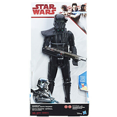 Star Wars Electronic Duel Figure - Imperial Death Trooper - NEW