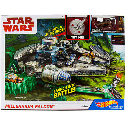 Hot Wheels Star Wars Millennium Falcon - NEW