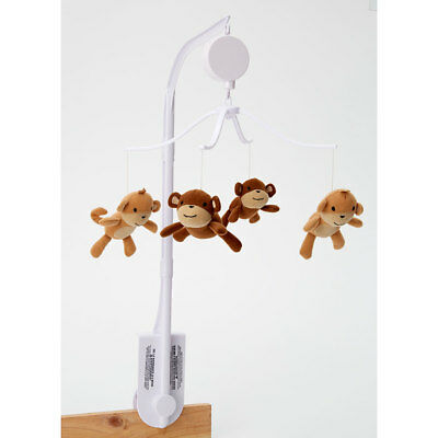 Bedtime Originals Mod Monkey Musical Mobile By Lambs & Ivy