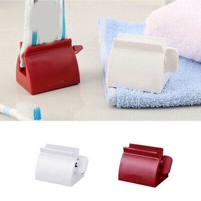 2 Color Facial Foam Cleanser Dispenser Toothpaste Squeezer Stand Holder