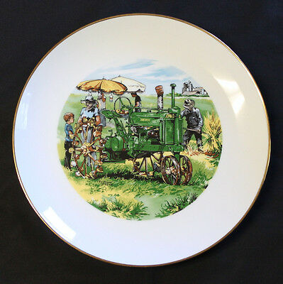 John Deere County Fair Collectors Plate Employees Credit Union 1983 A Tractor