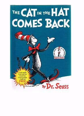 The Cat In The Hat Comes Back by Dr Seuss HB -Book Club Advertising Edition 1998