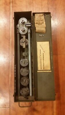 Kearney no. 7-1 swaging machine  aircraft marine  swaging tool cable crimp