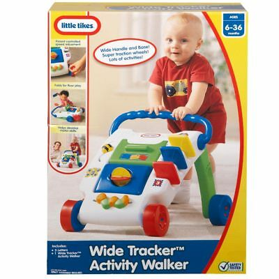 Little Tikes Wide Tracker Activity Walker - NEW