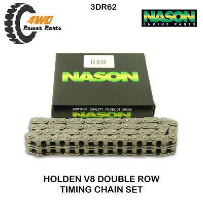 Holden V8 253 308 304 5.0L Timing Chain Double Row True Roller Type Nason 3DR62