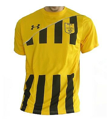 Aris Thessaloniki FC Trikot Home 2011/12 Under Armour Shirt Jersey Maillot XL