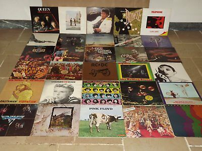 collection lot de 350 disques vinyles LP 33 TOURS